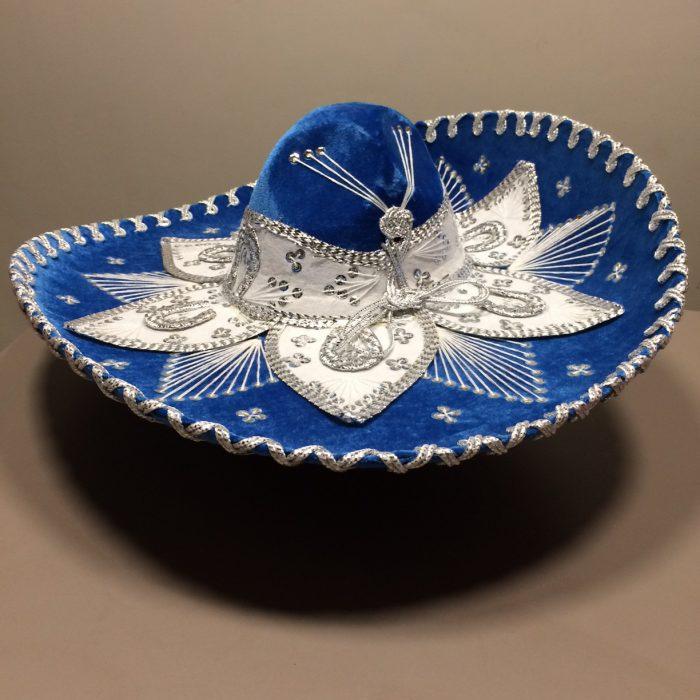 mexitheque - Sombrero - Bleu