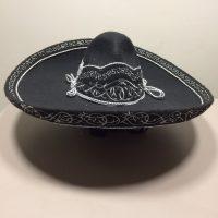 mexitheque - Sombrero - Charro - Noir