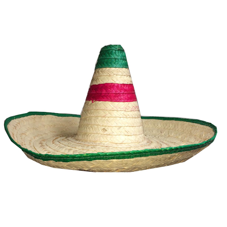 mexitheque - Sombrero - Paille - Vert