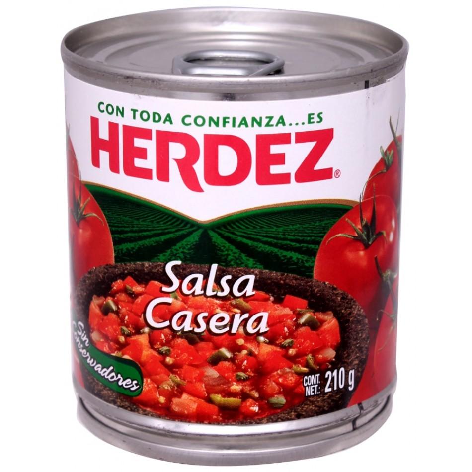 mexitheque - herdez - salsa casera - 210g