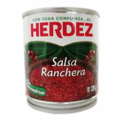 mexitheque - herdez - salsa ranchera - 220g