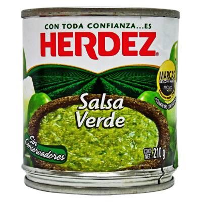 mexitheque - herdez - salsa verde - 210g