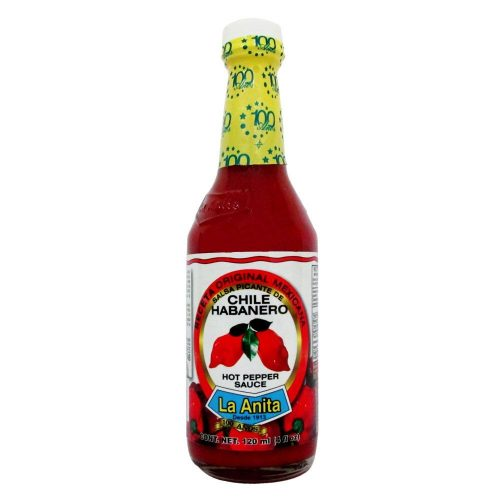 mexitheque - la anita - habanero roja - 120ml