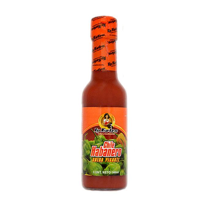 mexitheque - la extra - habanero roja - 140g