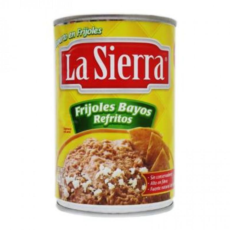 mexitheque - la sierra - frijoles bayos refritos - 430g
