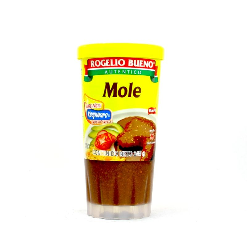 mexitheque - rogelio bueno - mole rojo en pasta - 235g