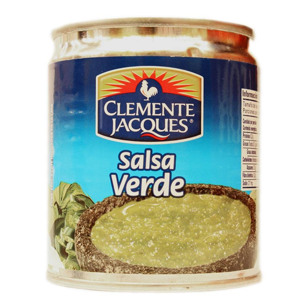 mexitheque - clemente jacques - salsa verde - 210g