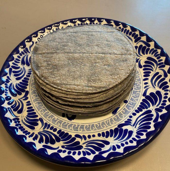 MexiTheque tortillas azul