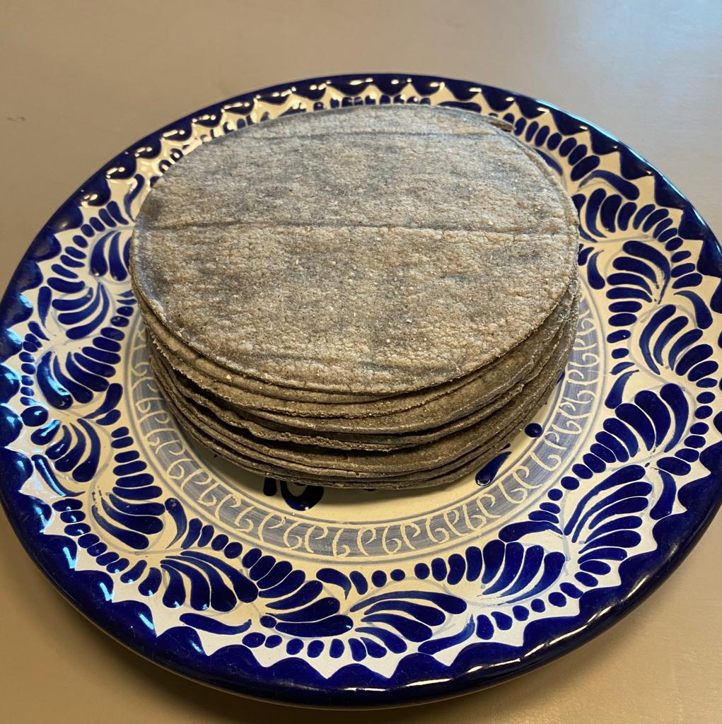 MexiTheque tortillas azul