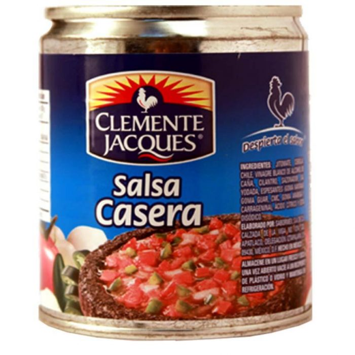 mexitheque - clemente jacques - salsa casera - 210g