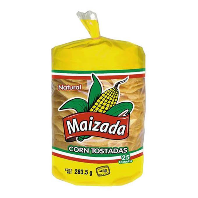 mexitheque - maizada - tostadas
