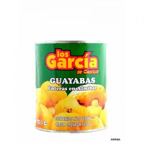 mexitheque - guayaba en almibar - los garcia - 800g