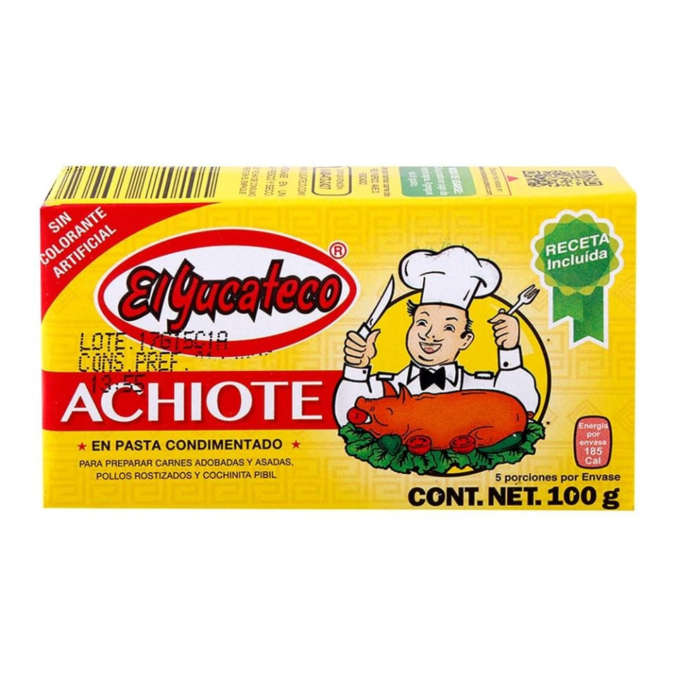 mexitheque el yucateco achiote