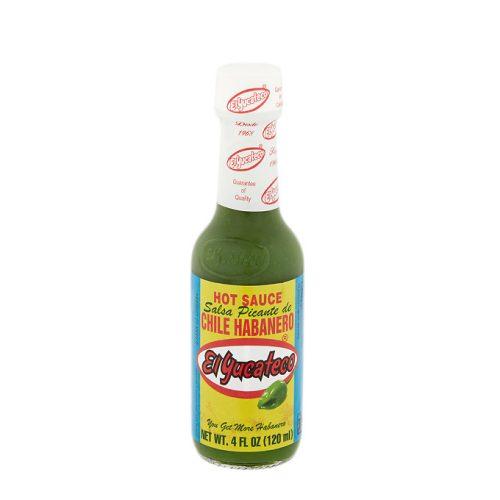 Salsa habanero verde el yucateco mexitheque