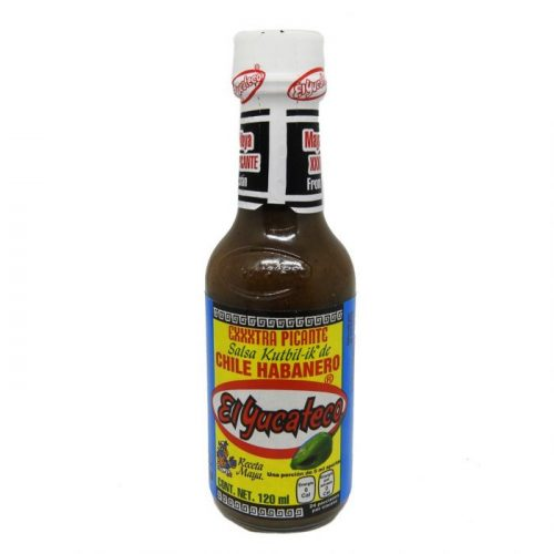 salsa habanero exxxtra picante mexitheque el yucateco
